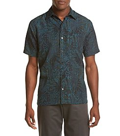 Van Heusen® Men's Short Sleeve Oasis Foliage Button Down Shirt