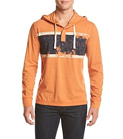 Ruff Hewn Men's Chest Stripe Hoodie