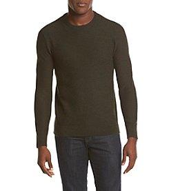 Michael Kors® Men's Wool Blend Tuck Crew Neck Sweater