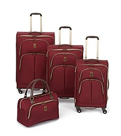 London Fog® Coventry Cabin Plum Luggage Collection + $50 Gift Card by Mail
