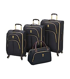 London Fog® Coventry Cabin Black Luggage Collection