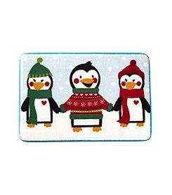 LivingQuarters Penguins Memory Foam Rug
