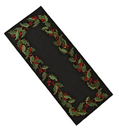 Nourison Holly Berry Runner Rug