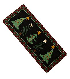 Nourison Christmas Tree Runner Rug