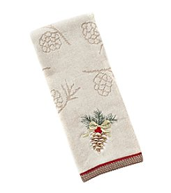 Saturday Knight, Ltd.® Heartland Pinecone Hand Towel