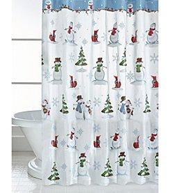 Saturday Knight, Ltd.® Woodland Winter Shower Curtain
