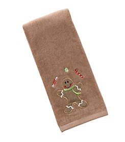 Saturday Knight, Ltd.® Gingerbread Treat Hand Towel