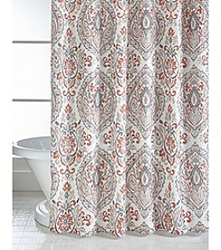 Bacova® Peyton Spice Damask Shower Curtain