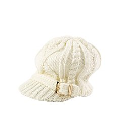 MICHAEL Michael Kors® Cable Knit Newsboy Hat