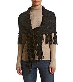 Free Spirit™ Solid Yarn Triangle Wrap