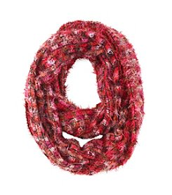 Relativity Ombre Feather Loop Scarf