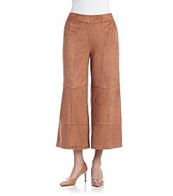 Nanette Nanette Lepore Side Zip Faux Suede Pants