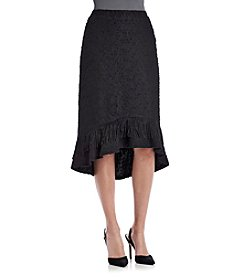 Nanette Nanette Lepore High-Low Fringe Skirt