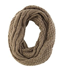 Collection 18 Split Cable & Seed Stitch Loop Scarf