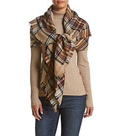Collection 18 College Plaid Wrap