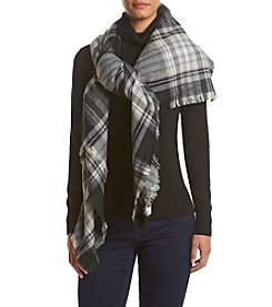 Collection 18 College Plaid Runway Wrap
