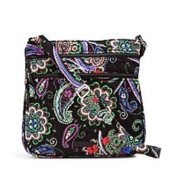Vera Bradley® Triple Zip Hipster Crossbody Bag