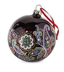 Vera Bradley® Paisley Ornament