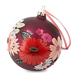 Vera Bradley® Floral Ornament