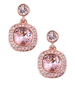 Givenchy® Cushion Drop Earrings