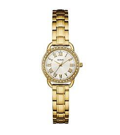 GUESS Women's Goldtone Classic Dress Watch