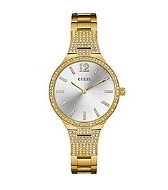GUESS Women's Goldtone Dress Watch