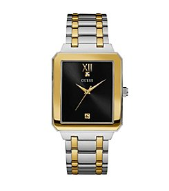 GUESS Two Tone Diamond Dress Watch