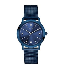 GUESS Men's Blue Dress Watch