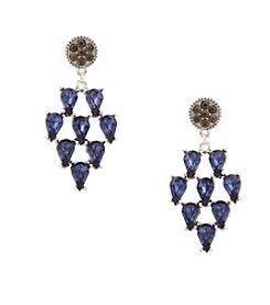 Erica Lyons® Drama Kite Drop Pierced Earrings