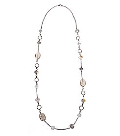 Erica Lyons® Meet Me In Glitzerland Long Strand Necklace