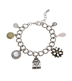 TRUE SENTIMENTS Locket Charm Gift Bracelet