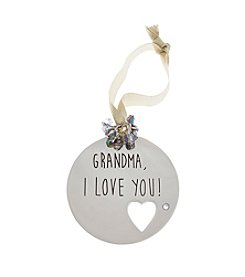 TRUE SENTIMENTS Grandma, I Love You Disk Ornament