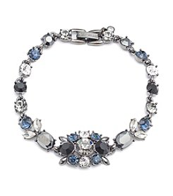 Givenchy® Hematite Tone Flex Bracelet