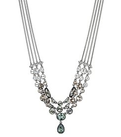 Givenchy® Crystal Drama Frontal Necklace