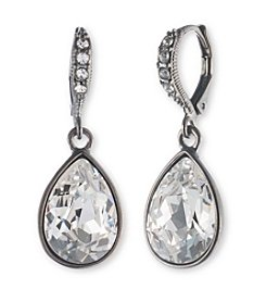 Givenchy® Crystal Teardrop Earrings