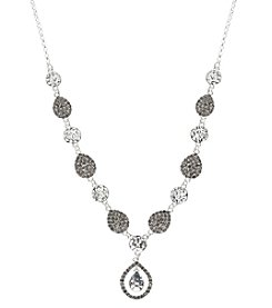 Nine West Vintage America Collection® Diamond Y Necklace
