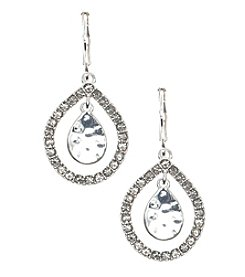 Nine West Vintage America Collection® Diamond Orbital Drop Earrings
