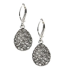 Nine West Vintage America Collection® Diamond Teardrop Earrings