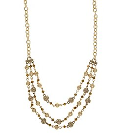 Nine West Vintage America Collection® Multi Row Necklace