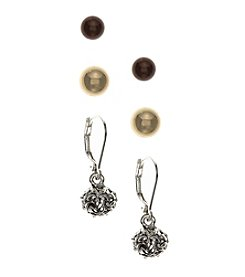 Nine West Vintage America Collection® Trio Stud Earrings