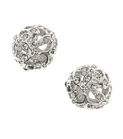 Nine West Vintage America Collection® Crystal Fireball Stud Earrings