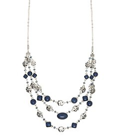 Nine West Vintage America Collection® Denim Multi Row Necklace