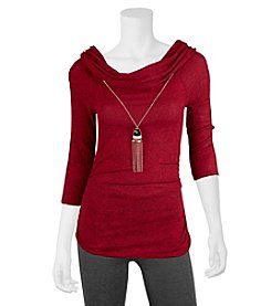 A. Byer Marilyn Knit Top