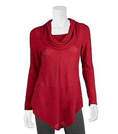 A. Byer Asymmetrical Hem Top