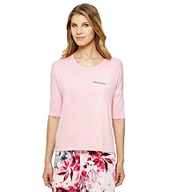 Ellen Tracy® Tickled Pajama Top