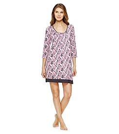 Ellen Tracy® Paisley Sleep Shirt
