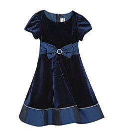 Rare Editions® Girls' 7-16 Bow Accented Dress