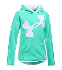 Under Armour® Girls' 7-16 Fleece Jumbo Logo Hoodie