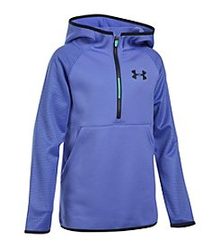 Under Armour® Girls' 7-16 1/2 Zip Fleece Printed Jacket