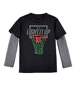 Under Armour® Baby Boys Light It Up Slider Tee